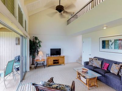 Photo for Two-story condo w/ amazing ocean views, shared hot tub & pool - walk to beach!