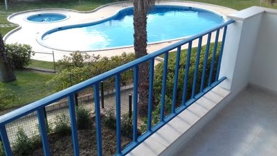 Photo for V2 Villa Jardin da Oura Marques, with pool, BBq, beach 500 m.