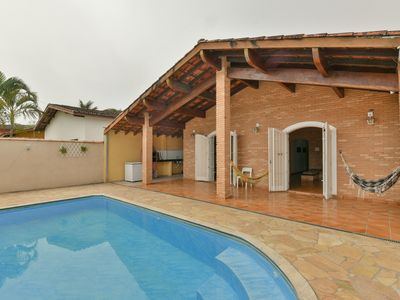 Photo for Cozy cottage with pool and BBQ, 03 dormit.à 150m Beach