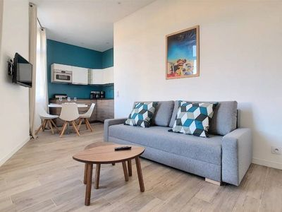 Photo for 7 BONE T2-2 - Nice apartment in private building, cannes center T22