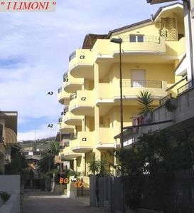 Photo for Four-room apartment with sea view at 30mt. from the beach