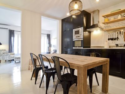 Photo for Luxury apartment in Malasaña, the heart of Madrid (4 + 2)