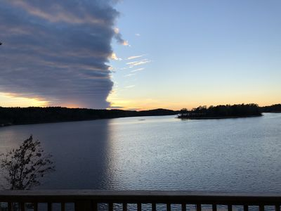 Photo for Amazing lake views all year long!