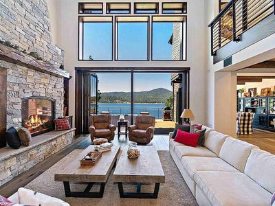 Photo for Waterfront home with four bedrooms