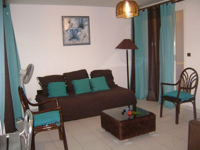 Photo for Beautiful T2 in quiet residence with swimming pool