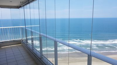 Photo for APARTMENT BEACH GREAT FRONT SEA WITH 2 ROOMS PARKING - WI FI - NETFLIX
