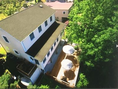 Aerial view - located in an area with other beautiful homes