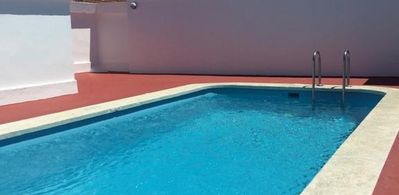 Photo for Family apartment with communal pool. 400m from the beach.