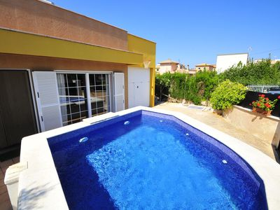 Photo for Villa with pool, air conditioning and WIFI at 300m from the beach of Alcudia