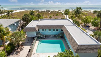Photo for Sea Gull Duplex Beachfront with Heated Pool