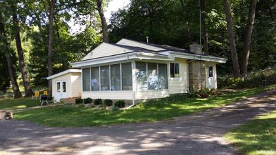 Little River House located directly on 120 ft  river frontage.