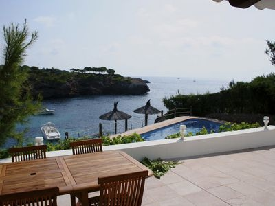 Photo for Villa with pool, in first line of Cala Esmeralda