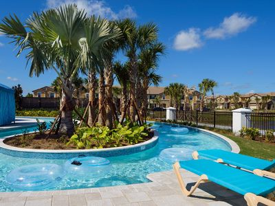 Photo for BRAND NEW!! PROFESSIONALLY DECORATED, GATED RESORT COMMUNITY, FREE WIFI, PRIVATE SPLASH POOL!!
