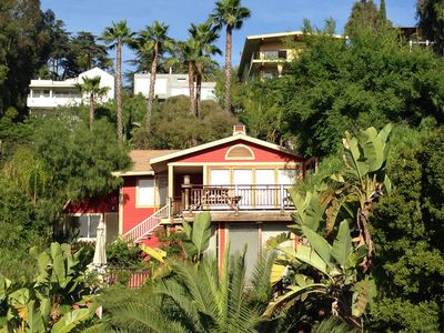 Photo for Silver Lake Hills! Expansive VIEWS! Luxury House, 2 Master Suites, Lush Gardens