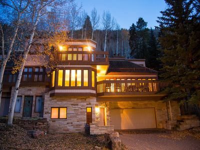 Photo for Closest Vail Golf Course home to the slopes with private hot tub