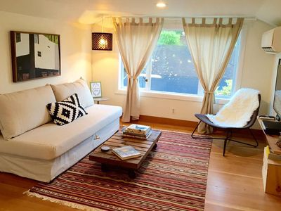 Photo for Top floor private guest apartment located in town Vashon.  Walk to everything!