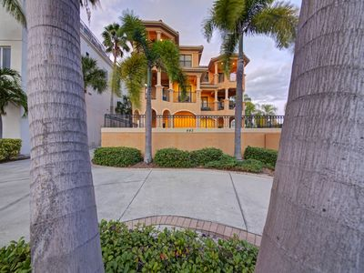 Photo for Beautiful 3 Bedroom Mediterranean w/ Pool - Siesta Key Beach across the street