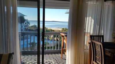 Photo for Tybee Portside Condo - Relaxing Beach and Lighthouse View!