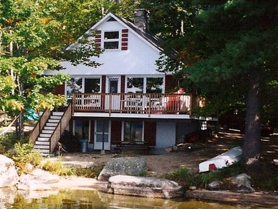 Photo for Lakefront Cottage on Pristine Maine Lake