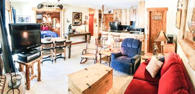 Welcome to our Log Cabin condo.