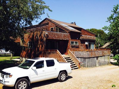 Photo for Beach House close to Everything! Fantastic in Montauk by foot, bike or car!