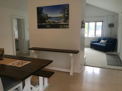 Photo for The Lake House fully furnished 3 br 2 bth vacation home on scenic Lake Gaston