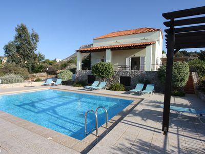 Photo for LOVELY LARGE VILLA with private pool and separate cottage.  Amazing views.