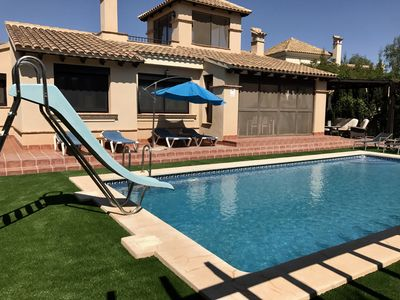 Photo for Private detached villa with own private pool
