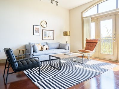 Photo for Sonder | Downtown Houston | Bright 1BR + Pool