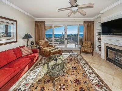 Photo for Adagio B-104:  Beach-front 4 bedroom - Steps from the beach walkover!!!