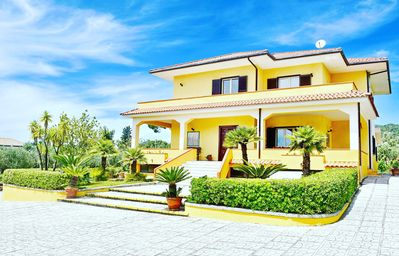 Photo for Stunning villa with sea view, pool and garden. Perfect for families and friends.