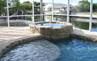Photo for Newly Renovated Waterfront Property,  Heated Pool w/Spa,10,000 pound Boat Lift