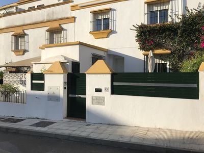 Photo for Marbella Holiday Home On Golden Mile And 20 Minutes Walk From Marbella town.