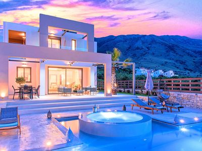 Photo for Minoas Villas Private Heated Pool 8 guests