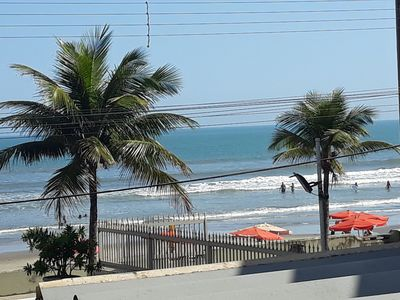 Photo for FIT. FRONT PRO SEA, 2 BEDROOMS, WiFi, MONGAGUÁ / SP