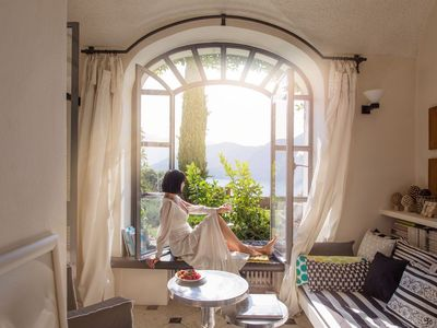 Photo for Palatial Palazzo sleeps 10 with private lake view garden