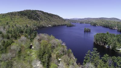 Photo for Private Waterfront House with dock access located on beautiful Lake Christopher