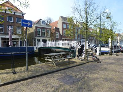 Picturesque house in the historic center of Delft