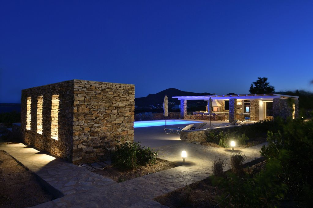 Villa ALTHEA with pool and 200m from private beach and panoramic views of  bay - Antiparos