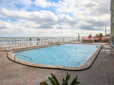 Photo for Dog-friendly, waterfront condo w/ furnished balcony, shared pool, & beach access