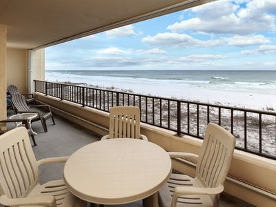 Photo for Surf Dweller Unit 304 BRAND NEW KITCHEN! Gorgeous Direct Gulf Front Views!