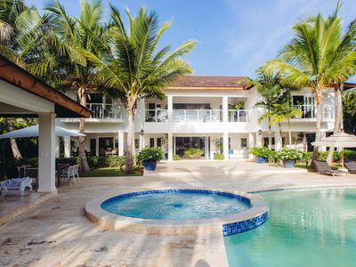 Photo for Villa with an Island Feel, Glorious Caribbean Landscape, Immense Terrace, Pool and Golf Course