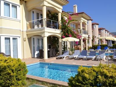 Photo for Beach Front Villa with Private Pool on site rich in facilties