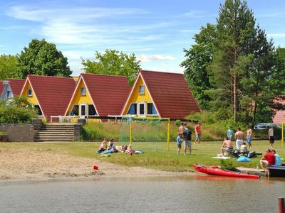 Photo for Holiday village Ferieninsel Tietzowsee, Zechlinerhütte  in Ruppiner Land - 4 persons, 2 bedrooms