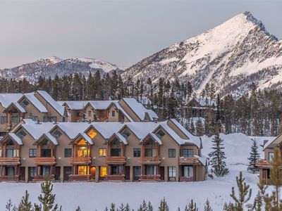 Photo for Stay Montana 2 Day Cancel Saddleridge Slopeside Retreat - Ski-in/Ski-out and Private Hot Tub!