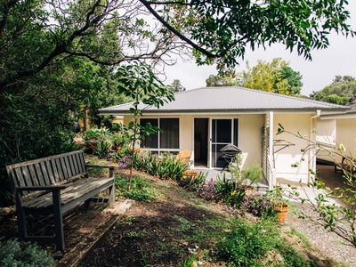 Photo for 1BR, s/c, a/c modern garden cottage in the heart of Milton NSW