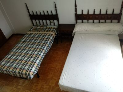 Photo for 4 INDIVIDUAL BEDS IN 2 BEDROOMS