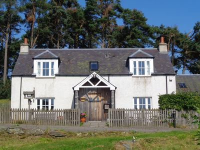 Photo for Farmhouse @ Dalnoid with hot-tub, wood-burners, Aga, pets welcome, large garden