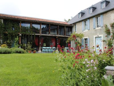 Photo for 16th Century former coaching inn restored to create fantastic holiday Gite.