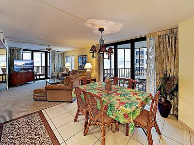 Photo for All-Suite 2BR on the Beach w/Spectacular Sunset Views - Hot Tub & Heated Pool